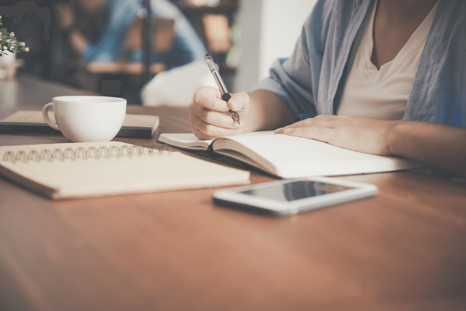 Proposal and award writing in a notebook